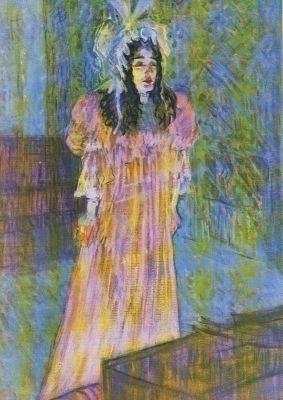 Henri de Toulouse-Lautrec. Fräulein May Beifort, 1895