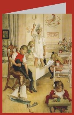 Carl Larsson. Am Morgen des Weihnachtstages, 1894