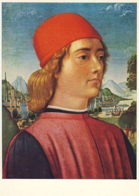 Mainardi, B. Bildnis eines Mannes. KK