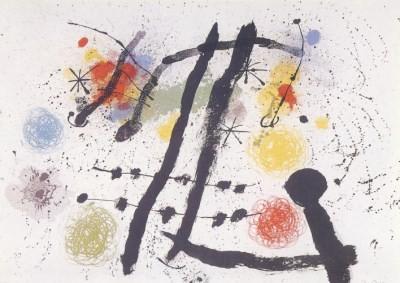 Joan Miró. Komposition