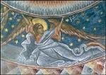 Byzantinisch. Erzengel Ephuel. Rumänisch. KK