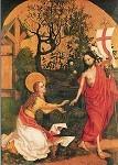 Martin Schongauer. Christus erscheint Maria Magdalena