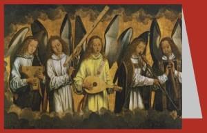 Hans Memling. Musizierende Engel. KK