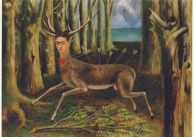 Frida Kahlo. Der verletzte Hirsch, 1946