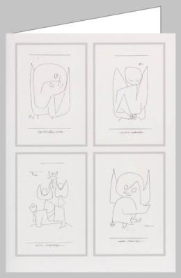 Klee, P. Vier Engel. DK
