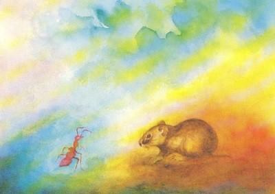 Scholzen-Gnad. Hamster und Ameise. KK