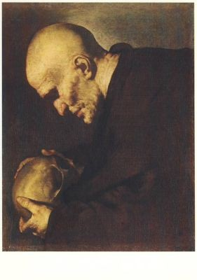 Ribera, J. Petrus von Alcantara in Meditation