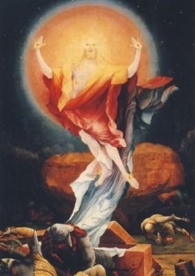 Grünewald, M. Auferstehung Christi. KK