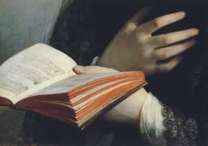 Friedrich von Amerling. In Träumen versunken (Auss.).1835