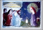 Parjiani, I. Christus und die Frau aus Samarien. KK