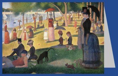 Georges Seurat. Ein Sonntag Nachmittag auf der Insel.......