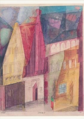 Lyonel Feininger. Lüneburg II, 1933. KK