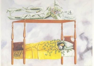 Frida Kahlo. Der Schlaf, 1940