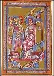 Ostermorgen, die Frauen am Grab, um 1140. KK