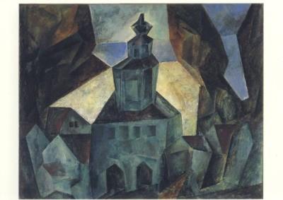 Lyonel Feininger. Zottelstedt I, 1916