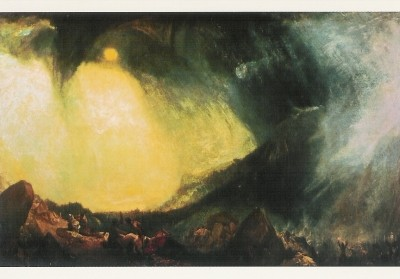 Joseph Mallord William Turner. Schneesturm