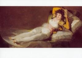 Goya, F. Die bekleidete Maja. KK