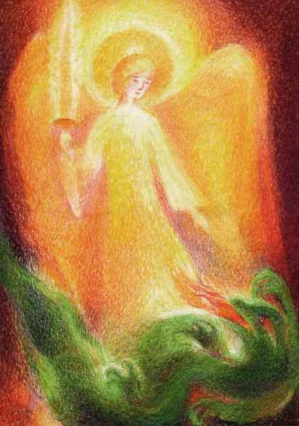 Marie Laure Viriot. St. Michael