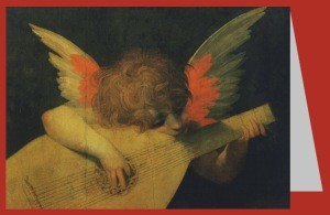 Rosso Fiorentino. Musizierender Engel, um 1520