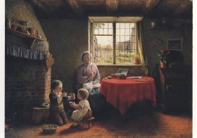 Hardy, Friederick-Daniel. Die drei Weisen, 1860. KK