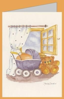 Decker, Marion. Puppenwagen und Teddy. DK