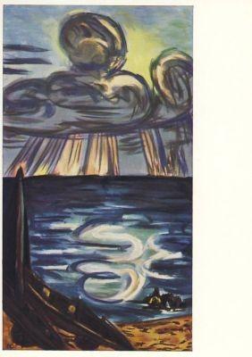 Max Beckmann. Meer und Wolken.