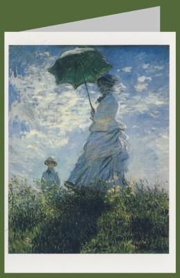 Claude Monet. Frau mit Sonnenschirm. DK