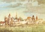 Albrecht Dürer. Innsbruck von Norden