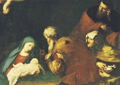 Ribera, J. Anbetung der Hirten. KK