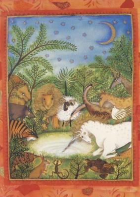 Jane Ray. Mythische Tiere, Einhorn