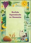 Waldman-Brun, S. Herzliche Segenswünsche zur Kommunion. DK