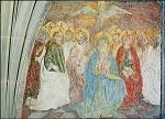 Geistsendung. Fresko in der Silvesterkapelle Ende 15. Jh. KK