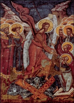 Auferstehung Christi, Verkündungs-Kirche. KK