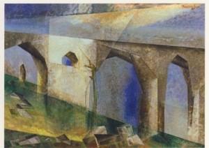 Lyonel Feininger. Viadukt II, 1937