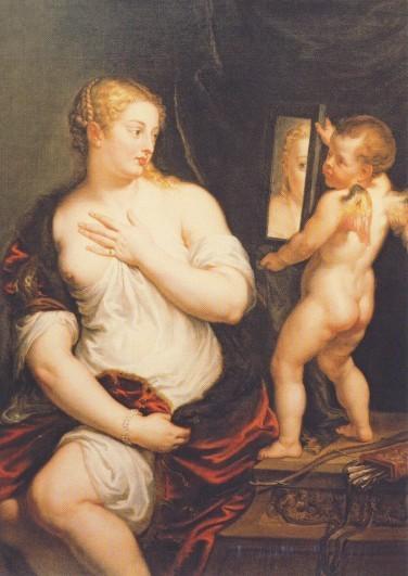 Rubens. Doe Toilette der Venus (Venus und Amor) ca. 1606-11