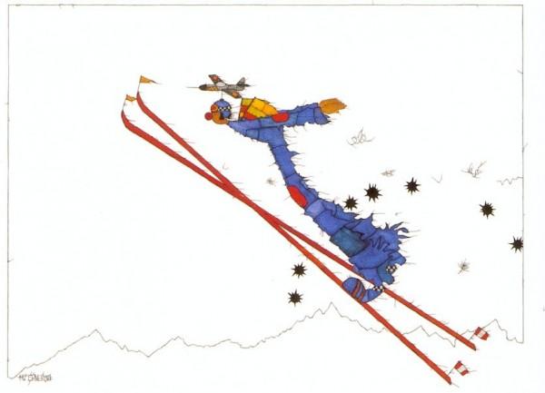 Michael Ferner. Überflieger, 2001. KK