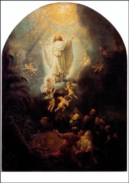 Rembrandt. Die Himmelfahrt Christi, 1636. KK