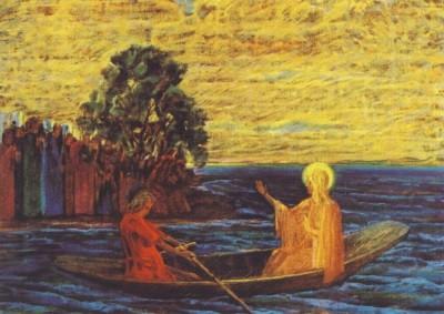 Max Wolffhügel. Die Predigt am See