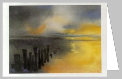 Decker, M. Sonnenuntergang. DK
