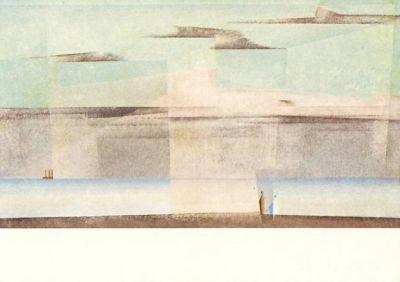Rosa Wolke II, Feininger