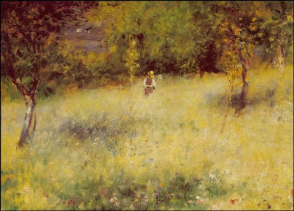 Piere-Auguste Renoir. Frühling. KK
