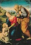 Raffael. Die Heilige Familie mit dem Lamm, 1507. KK