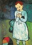 Picasso, P. Kind mit Taube. KK