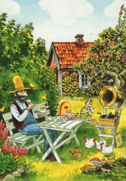 Sven Nordqvist. Pettersson im Garten. KK