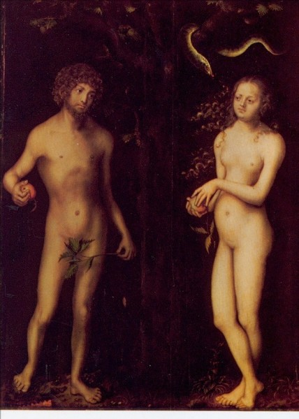Cranach, Lucas d.Ä. Adam und Eva. KK