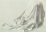 Albrecht Dürer. Gewandstudio, 1506