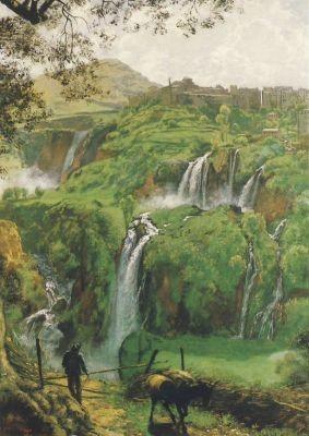 Die Wasserfälle von Tivoli, Thoma