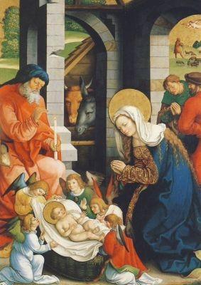 Geburt Christi, Strüb