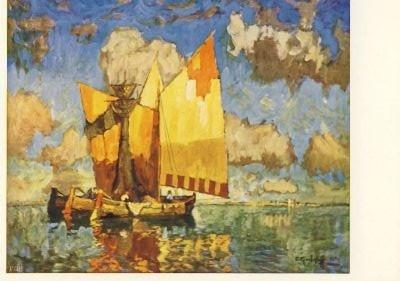 Konstantin Gorbatoff. In der Lagune