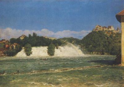 Der Rheinf. b.Schaffhausen, Thoma